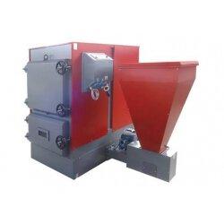 Автоматический угольно-пеллетный котел FACI 208 SSL/SSP  (боковое или заднее расположение  бункера)