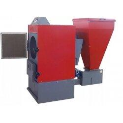 Автоматический угольно-пеллетный котел FACI 42 SSL/SSP (боковое или заднее расположение  бункера)
