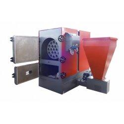 Автоматический угольно-пеллетный котел FACI 130 SSL/SSP  (боковое или заднее расположение  бункера)